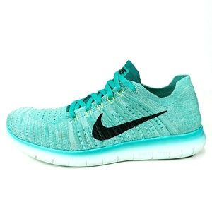 Nike Free RN Flyknit Running Shoes Size 10